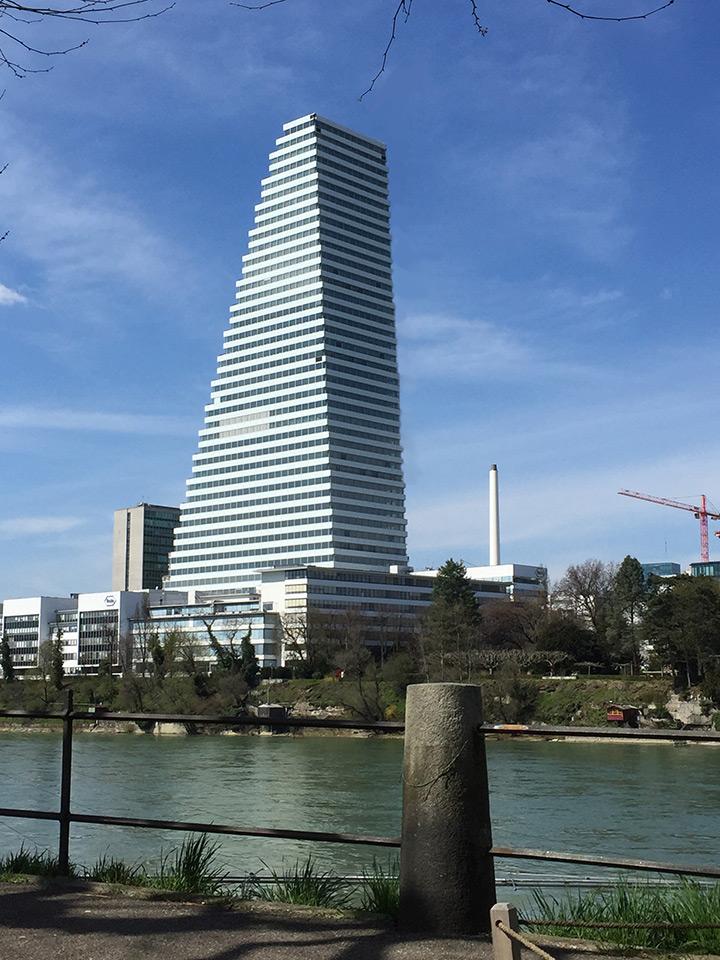 Roche Tower Basel Lenzlinger Sons Ltd