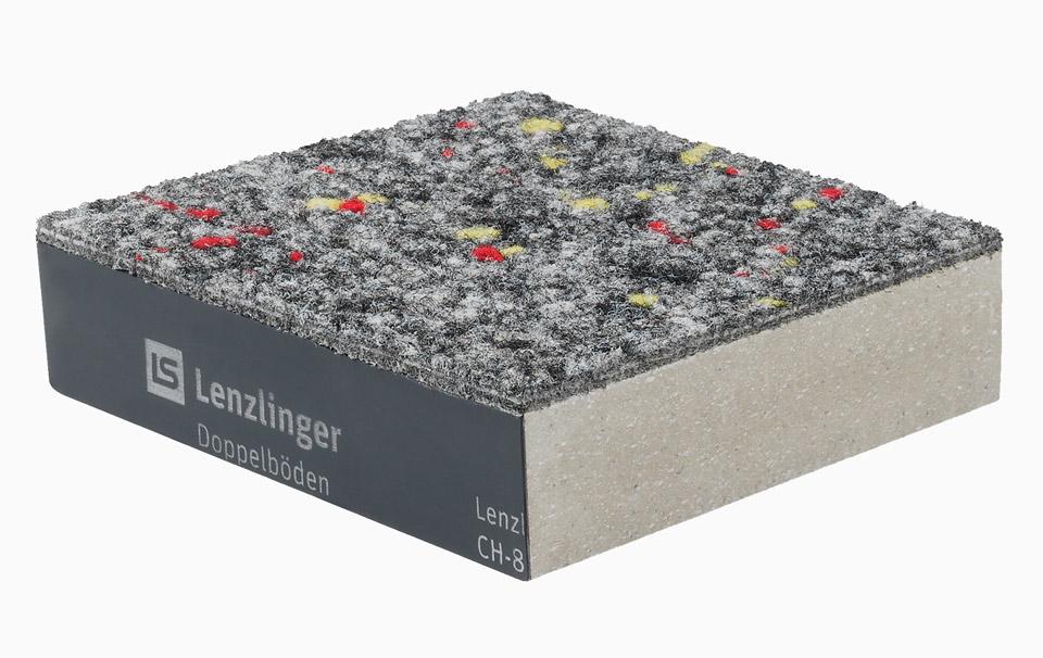 Panneaux de sol doubles avec rev tement dur et textile for Moquette feutre